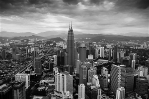 Petronas Towers in City Photo